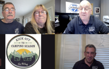Podcast 031 – Veteran Avid RVers Audrey and Bob Egan Tell Us About Their Upcoming Trips