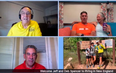 Podcast 093 – Full-Timers and Athletes Jeff and Deb Spencer