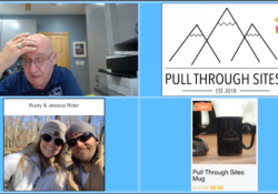 Podcast 112 – Meet author of Pull Through Sites – Jessica Rider and Teaser for Upcoming Event
