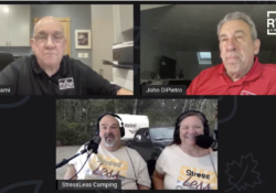 Podcast 123 – Stressless Camping's Tony and Peggy Barthel on RVing in New England