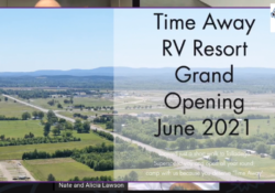 Podcast 126 – Time Away RV Resort – 5 Minutes from NASCAR's Race Venue