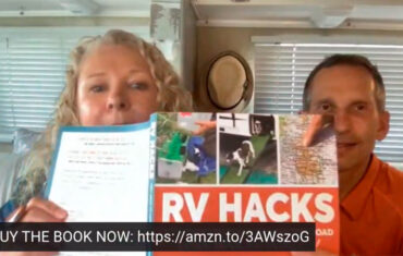 Podcast 133 – RV Love with their new RV Hacks Book