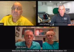 Podcast 144 – RV Education 101's Mark and Dawn Polk