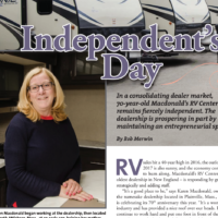 Karen Macdonald Celebrated by RV Pro Magazine