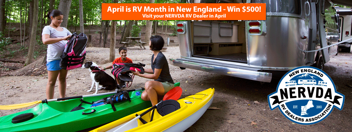 April is RV month in New England